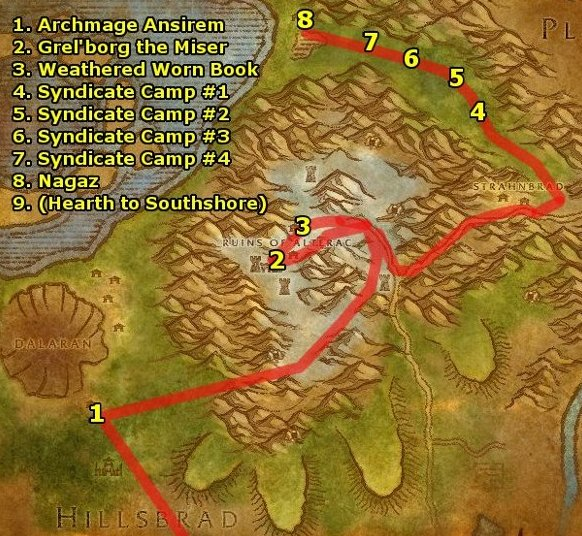 wow how to get to normal dalaran