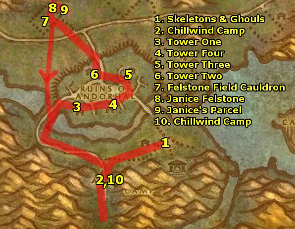 Ding80's Alliance Western Plaguelands Guide Level 54