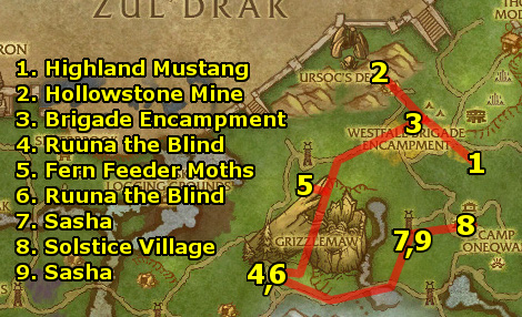 guide wow westfall