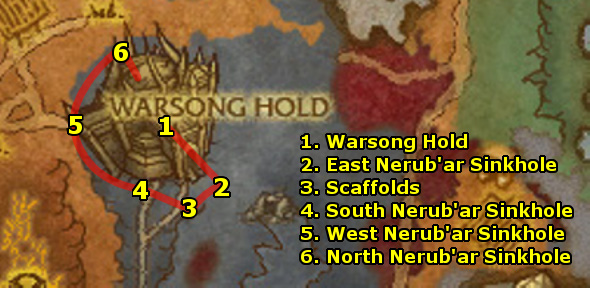 how to get to borean tundra alliance