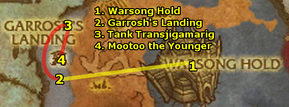 how to get to borean tundra from orgrimmar