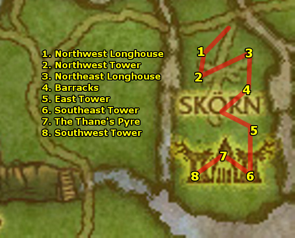 how to get to howling fjord horde